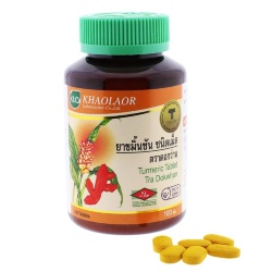 Turmeric (Curcuma longa) in Tablets