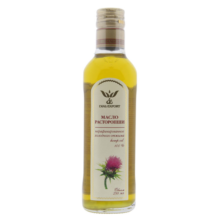 Масло Расторопши (Milk Thistle Oil)